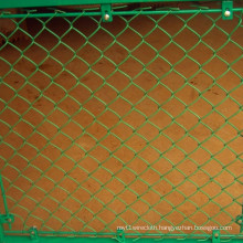 Galvanized Then PVC Chain Link Temporary Fence