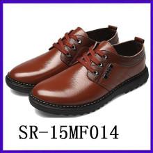Encaje fresco encima de los zapatos de los hombres empareja para los zapatos del desgaste formal del juego