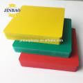 JINBAO decoration pvc foam 5mm sheet for roof panel