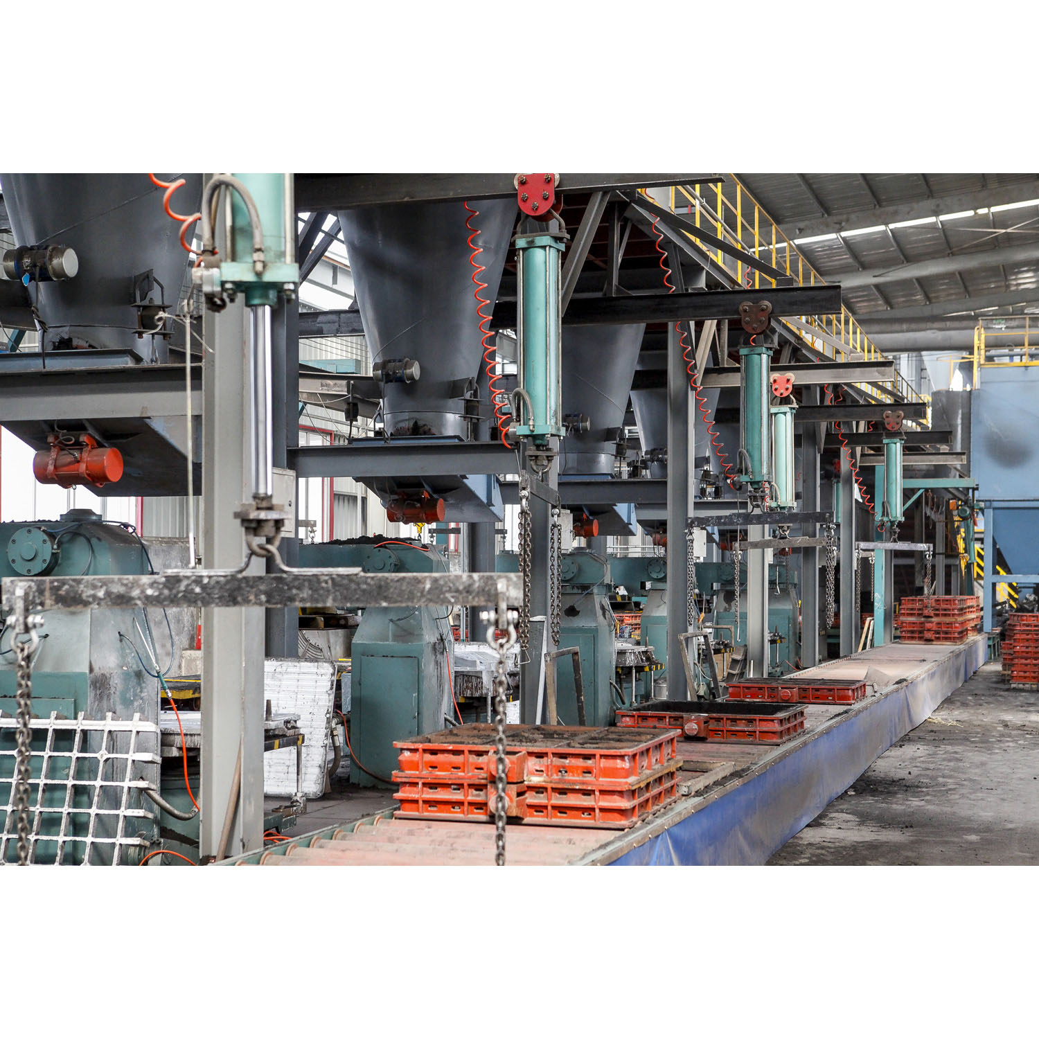Green Sand Casting Line