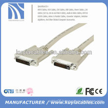 WHITE DVI MONITOR 24+1CABLES MALE TO MALE CABLE HOT SALE