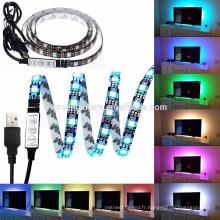 365nm uv led bande 3528 LED bande 5M 300led 12 volts non-étanche led lumière