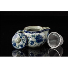 250ml pot Rose ceramic teapot with stainless insert
