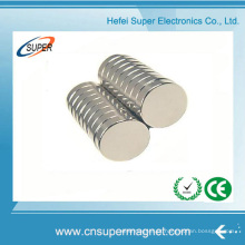 Ímãs de cilindro de motor de neodímio de alto grau