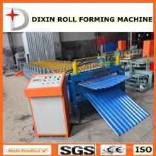Doppelschicht-Stahldachplatte C8-C21, die Maschine Hebei Manufacturer bildet