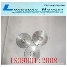 Partie en fonte d'alliage de cuivre, pièces moulées personnalisées en laiton