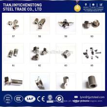 Parafusos de máquina de aço inoxidável M1