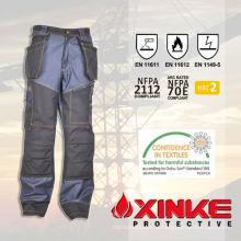 alto grau de construção profissional mais recente design calças de brim