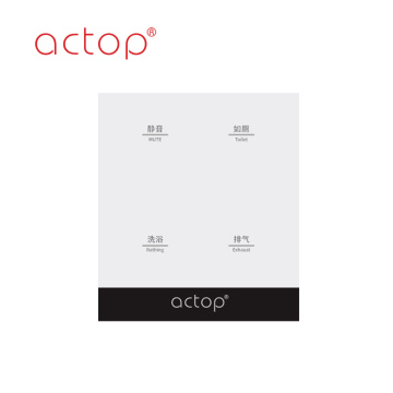 Touch switch smart hotel ACTOP