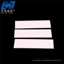 Al2o3 placa de sustrato de cerámica de alúmina de alta temperatura