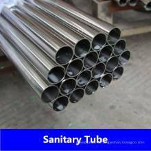 ASME SA270 Tp316L Санитарная труба из нержавеющей стали с хорошей ценой