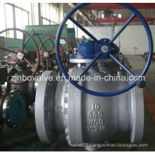 GOST Gear Type 2PC Ball Valve (Q41H)