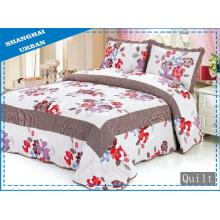 Edredão 100% algodão com estampa de cama