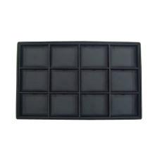 Multifonctions 12 Sot en cuir noir Collier en PU (TY-12N-BL)