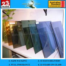 3-12mm getöntes Floatglas & getöntes Glas mit AS / NZS 2208