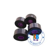 55mm*300M PET , PVC sticker Near edge compatible videojet tto ribbon