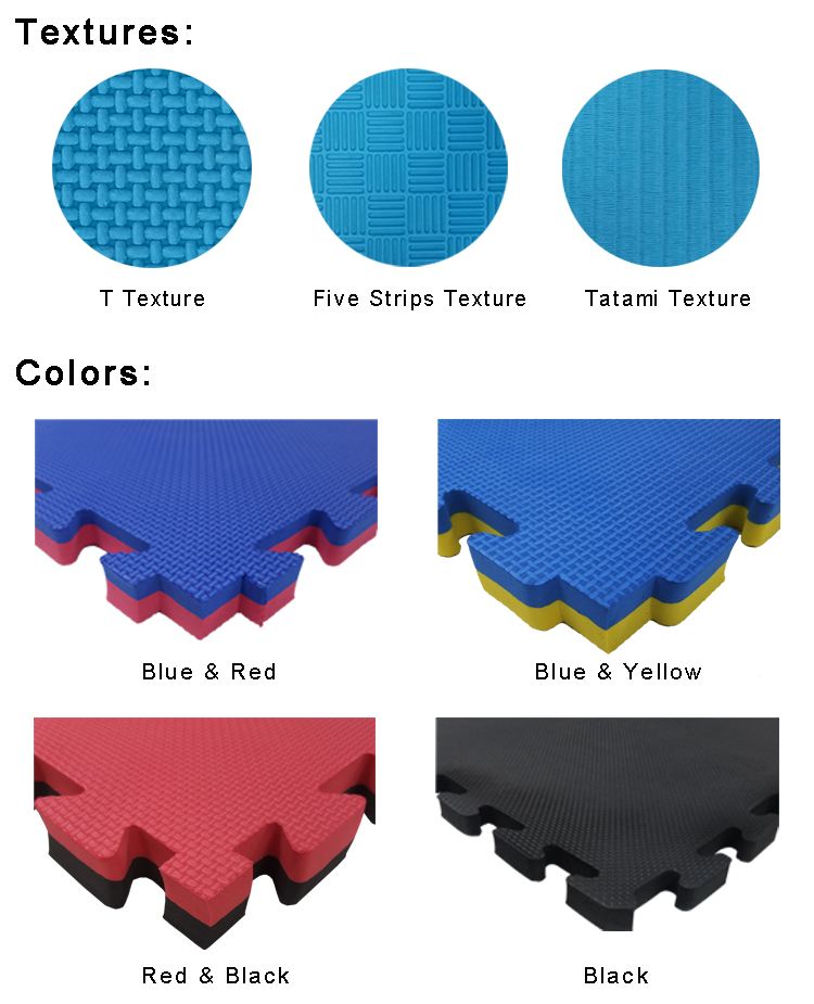 Soft Interlocking EVA Gym Floor Mat