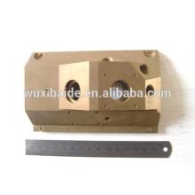 Matériaux en laiton composants en laiton cnc composants cnc usinés, pièces de tour de cnc en laiton personnalisées