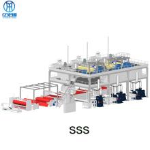 SSS PP Spunbonded Vliesstoff, der Maschinenlinie herstellt
