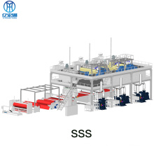 SSS PP Spunbonded Nonwoven Fabric Making Machinery Line