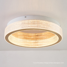 Wholesale modern office surface mounted gold aluminum acrylic round ceiling light