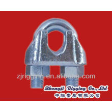 US Type malleable Wire Rope clamp