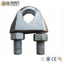 Galvanized din 741 wire rope grips rigging