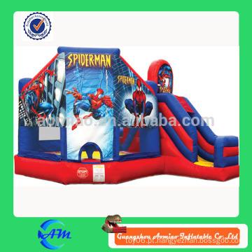 Tema super herói bouncer inflável
