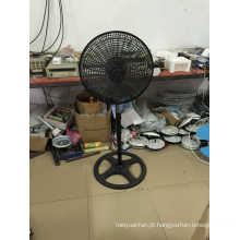 18 ′ ′ Stand Fan com Grill Plástico