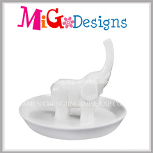 Lovely Animal Ceramic Great Gift Ring Holder para Mujeres