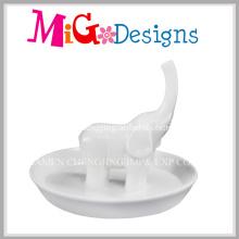 Lovely Animal Ceramic Great Gift Ring Holder for Women