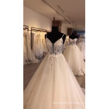 High Quality and lace Decoration women wedding dress