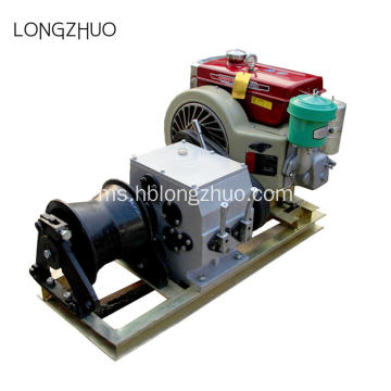 Fast Speed ​​5T Engine Powered Pulling Winch
