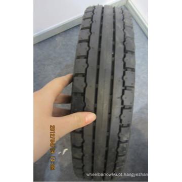Novo padrão de pneu e tubo para carrinho de mão