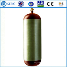 50L Seamless Steel Carbon Fiber CNG Cylinder (ISO11439)