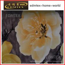 Tecido de cortina com estilo impresso preço barato EDM0576