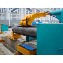 Machine de ligne à découpage automatique avec décoiler et recul