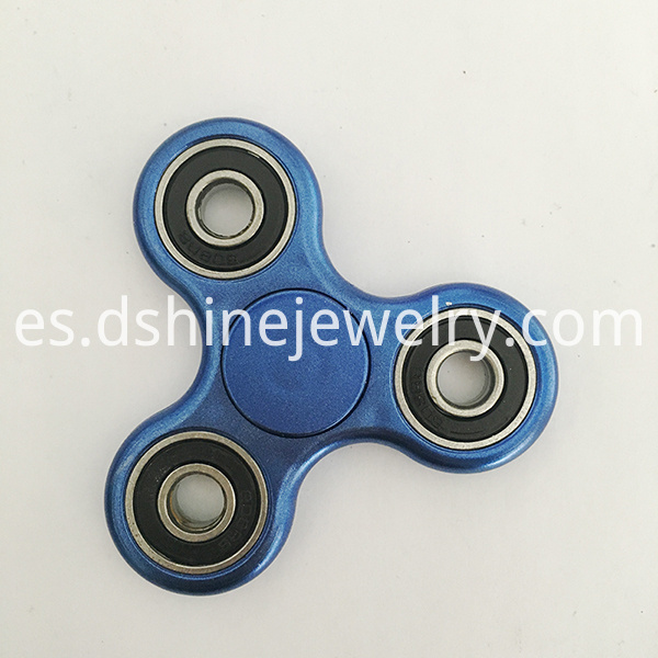 blue metallic spinner