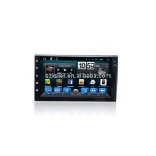 Kaier Supplier double din 7 '' Coche GPS DVD Radio Estéreo universal con Bluetooth / SWC / Virtual 6CD / 3G / ATV / iPod