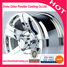 super chrome powder coat polyester resin base