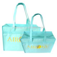 Hot Promotion Packaging Custom Reusable Non Woven Folding Shopping Bag