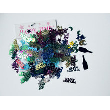 New year glitter confetti