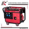 6KVA DIESEL GENERATOR FOR SALE WITH SINGLE CYLINDER GENERATOR HIGH RPM ALTERNATOR