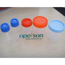Tasse d'urine en plastique jetable avec différentes tailles
