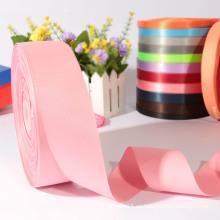 Venta al por mayor rosada de la cinta del grosgrain para los accesorios del pelo