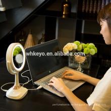 2017 neue Produkte musikalische Bluetooth Make-up LED-Spiegel mit Lautsprecher