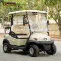 Luxo 2 lugares carrinho de golfe elétrico Trojan bateria clube buggy carro carrinho de golfe