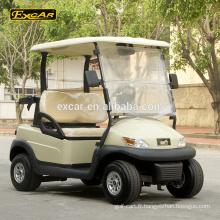 2 places pas cher électrique chariot de golf à vendre club voiture golf panier chine buggy