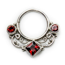 Vintage septo falso nariz anel corpo jóias septo Tribal