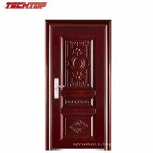 ТПС-096 высокое качество готовых стальные двери дешевые наружные стальные Плакированные дверь